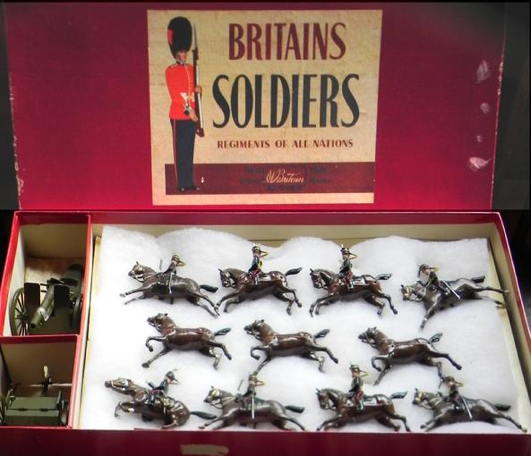 W. Britains boxed set #39 - Royal Horse Artillery Mint in Box - $575 Purchased in 2010 from The Malcolm Forbes Collection